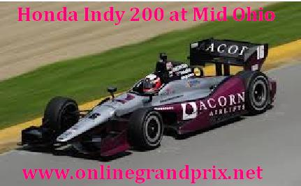 Watch Honda Indy 200 at Mid Ohio Online