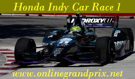 Watch Honda Indy Car Race 1 Live