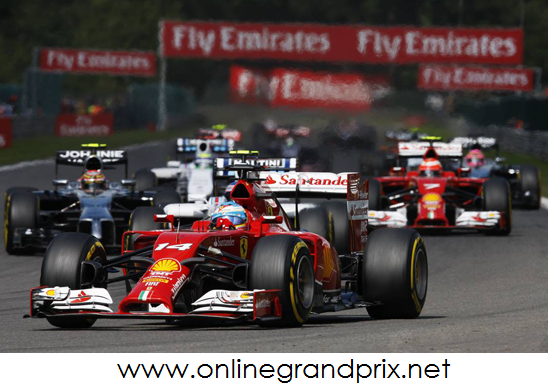 Live Shell Belgian Grand Prix 2015 Online