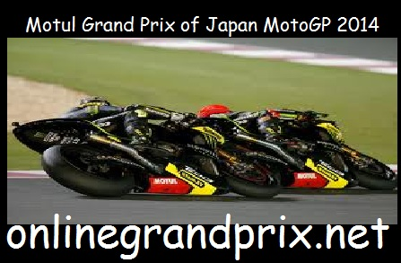 Motul Grand Prix of Japan MotoGP 2014