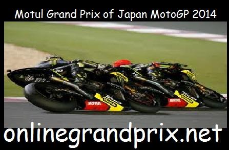 Motul Grand Prix of Japan MotoGP 2014