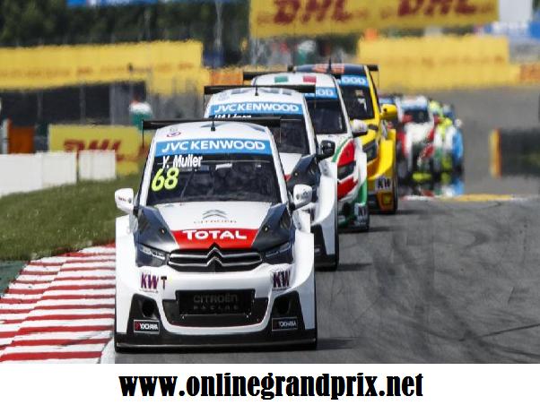 Live WTCC Race of Slovakia 2016 Online